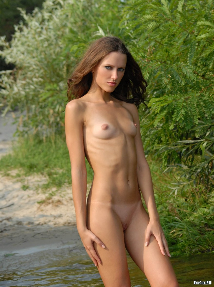 Nude girl in swamp adult scene