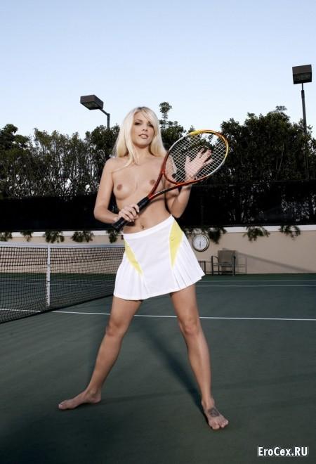 Эротический теннис