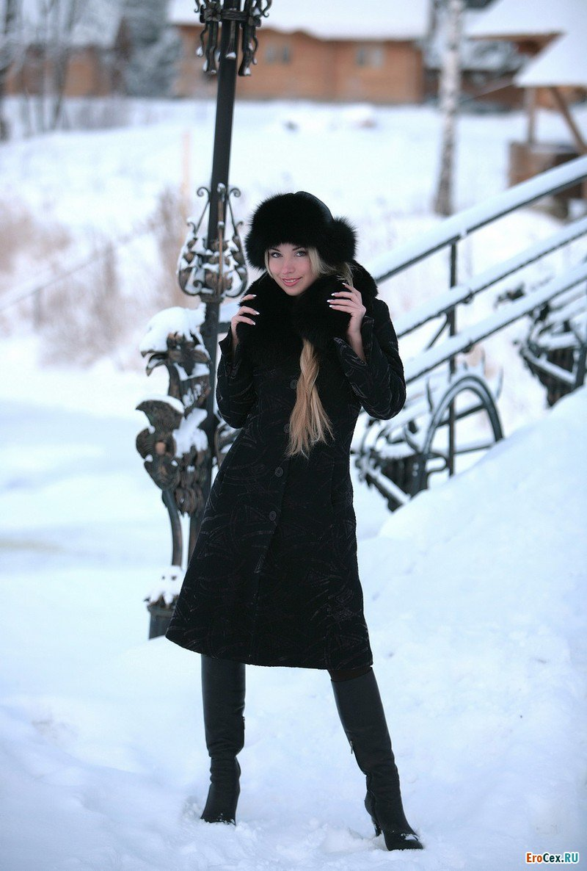 Снежная эротика