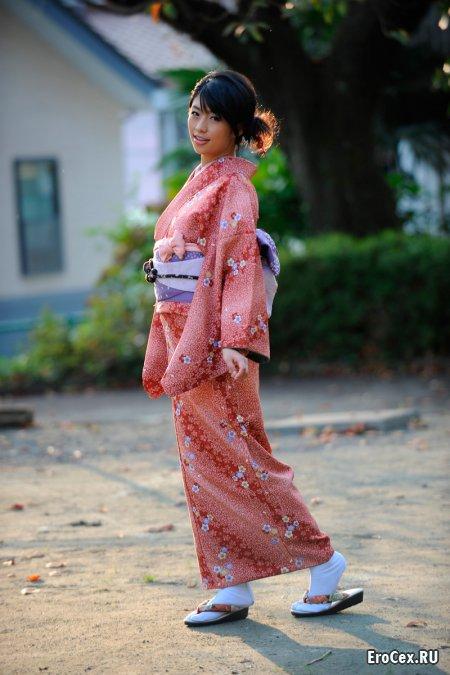 Фото эротика азиатки в кимоно