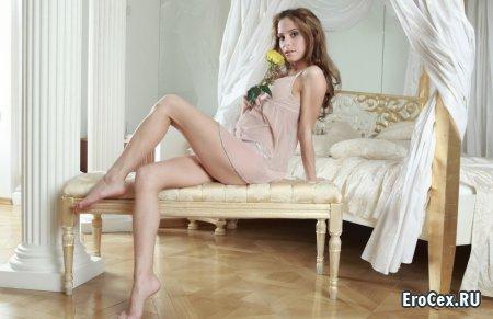 Сексуальная девочка в нижнем белье