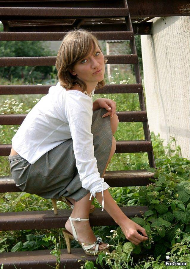 Частная эротика деревенской девушки